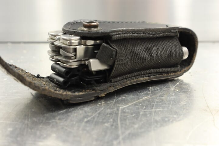 Leatherman Bit Kit in the original Leatherman Wave multitool pouch