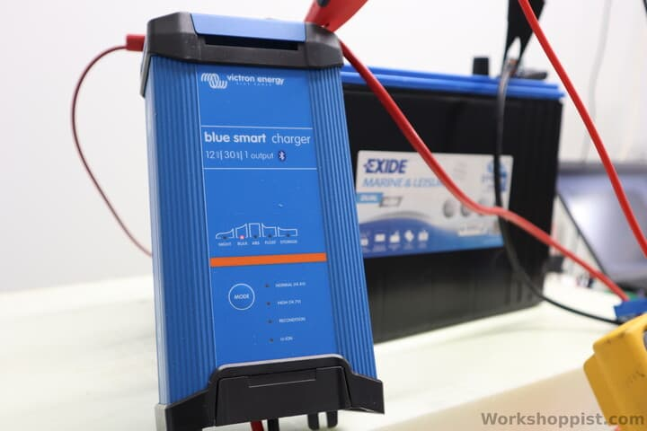 A smart lead-acid battery charger without AGM mode charging and AGM battery